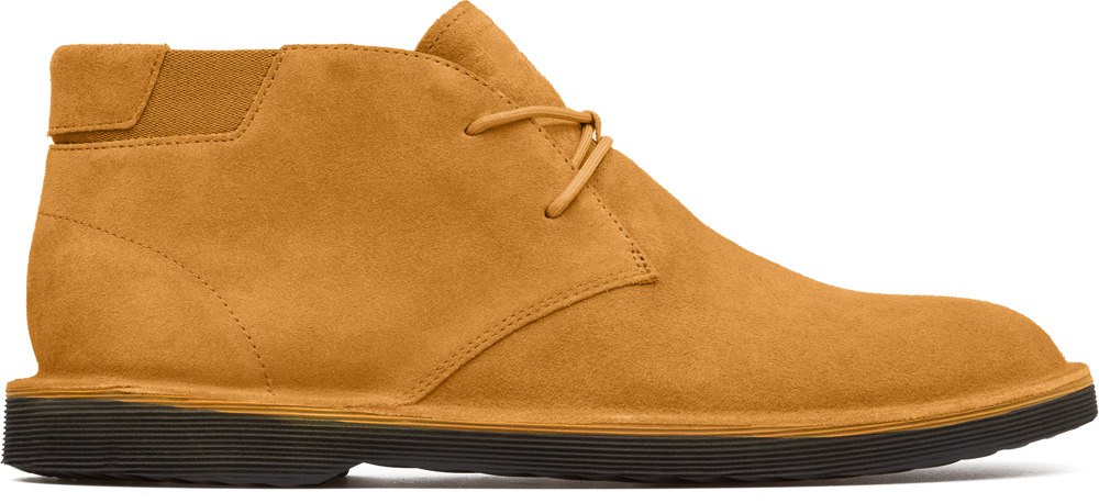 Camper Morrys Yellow Ankle boots Men K300035-013