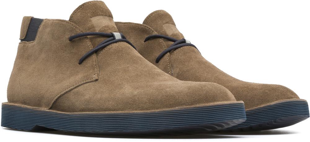 Camper Morrys Brown Ankle boots Men K300035-016