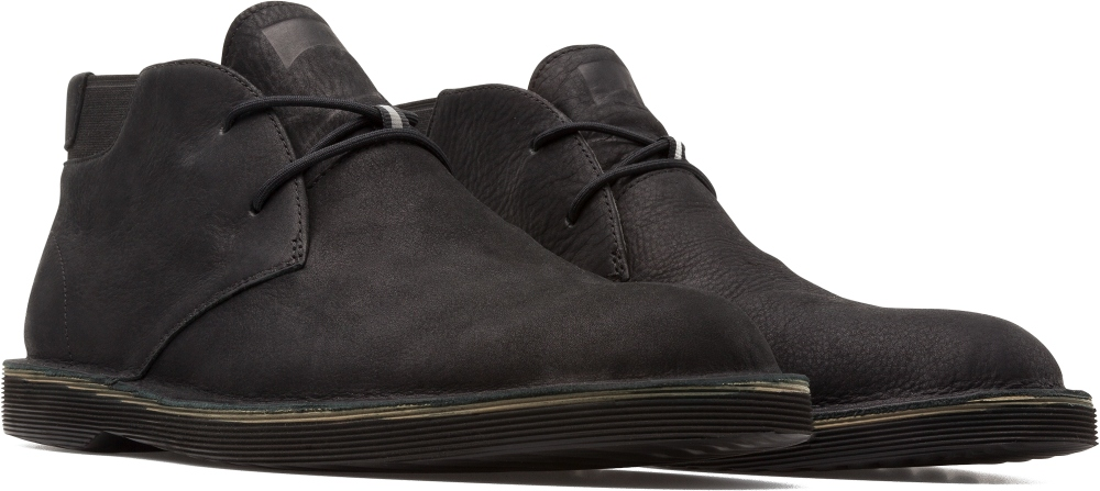 Camper Morrys Negre Botines Home K300035-025