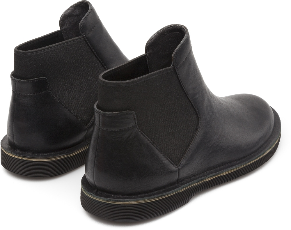 Camper Morrys Negre Botines Home K300036-002