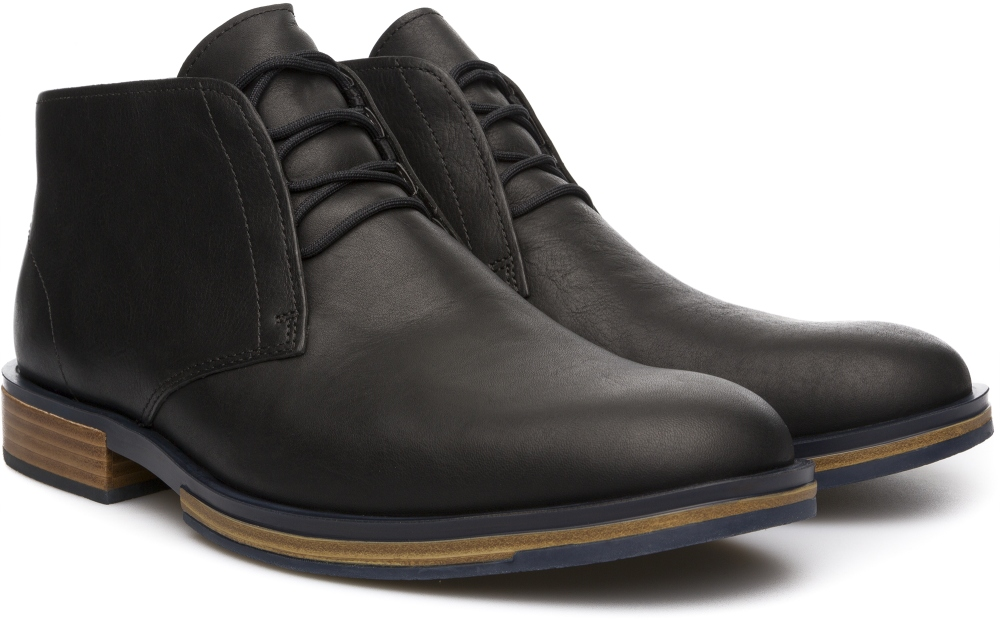 Camper Deia Black Ankle boots Men K300060-001