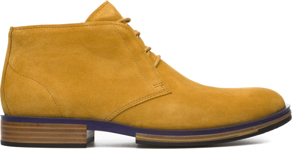 Camper Deia Yellow Ankle boots Men K300060-002