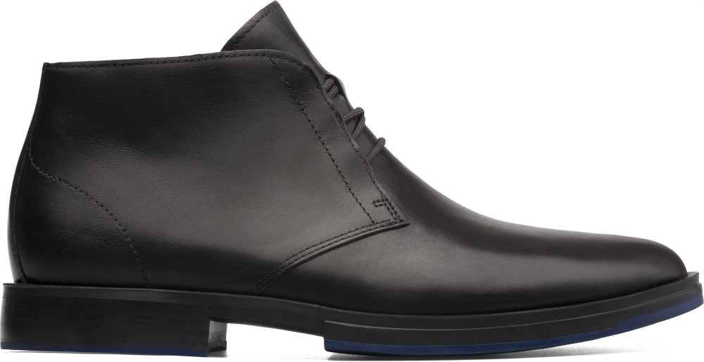 Camper Deia Black Ankle Boots Men K300060-003