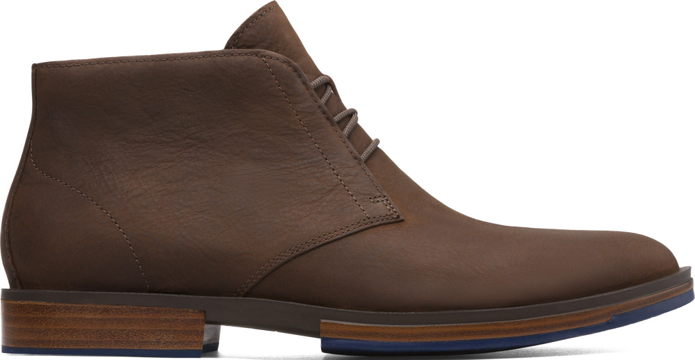 Camper Deia Brown Ankle Boots Men K300060-004