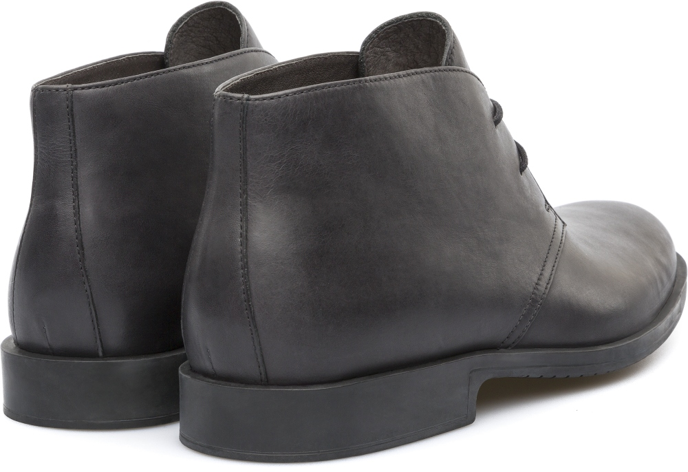 Camper Rebowie Black Ankle boots Men K300064-001