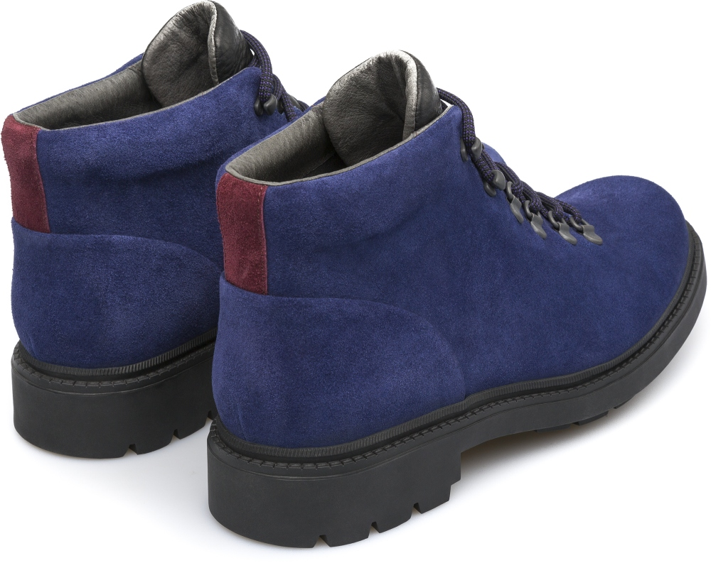 Camper Hardwood Blue Ankle boots Men K300089-002