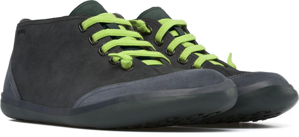 Camper Peu Slastic Black Sneakers Men K300125-002