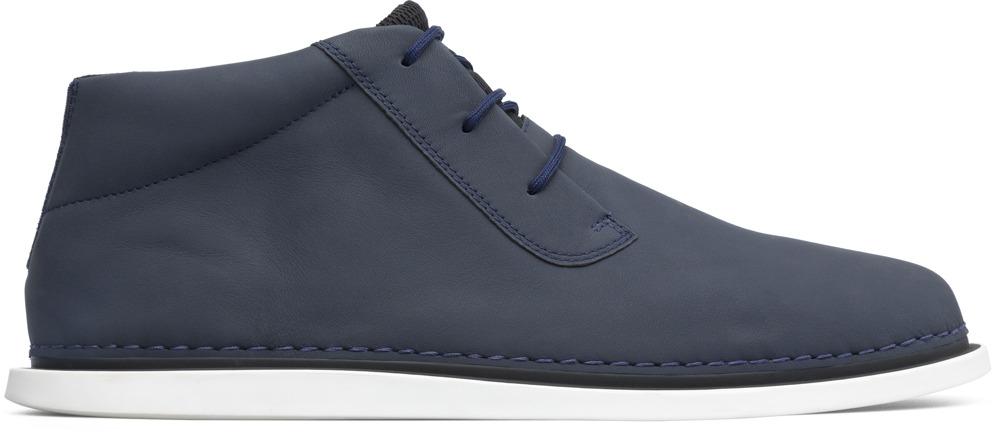 Camper Nixie Blue Ankle Boots Men K300150-001
