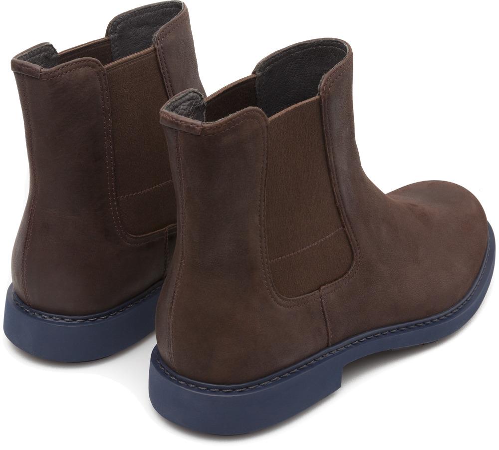 Camper Neuman Brown Ankle Boots Men K300170-002