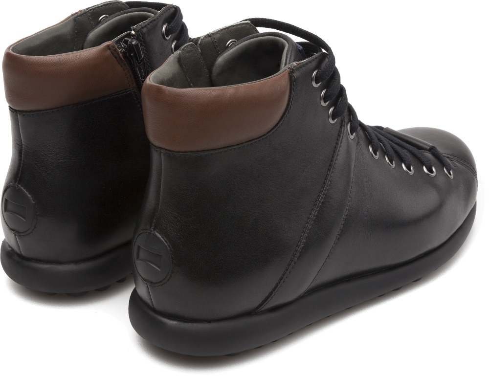 Camper Pelotas Black Ankle Boots Men K300174-001