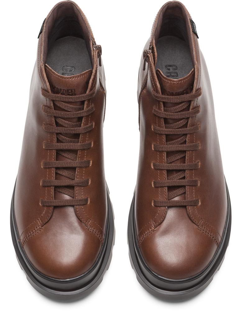 Camper Brutus Marron Zapatos Casual Hombre K300177-004