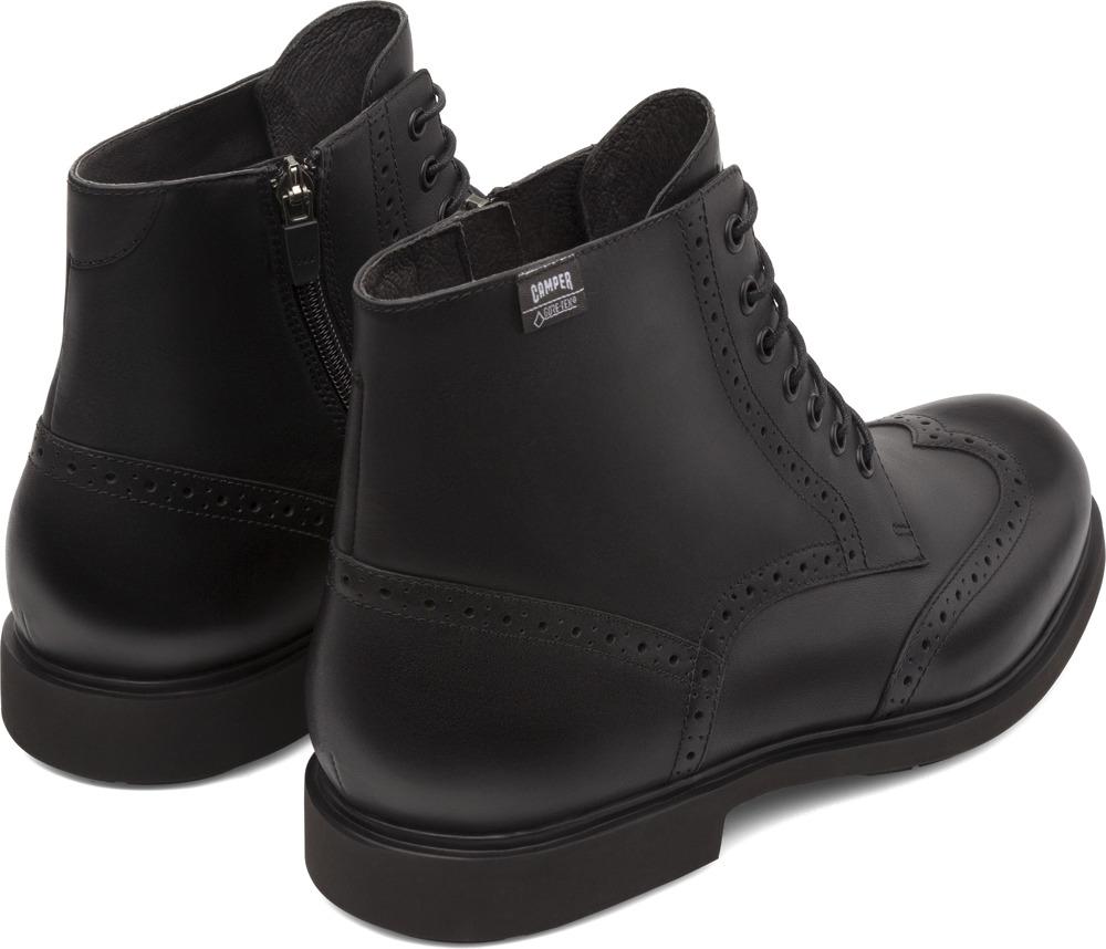 Camper Neuman Black Ankle Boots Men K300191-001