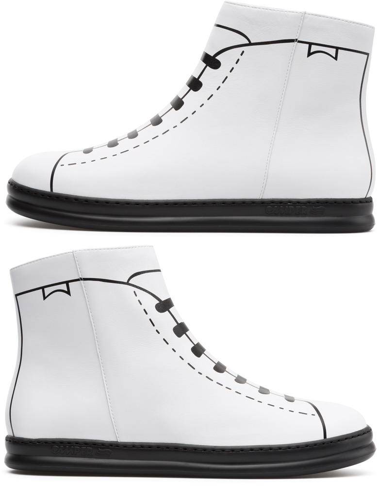Camper Twins Blanco Sneakers Hombre K300210-001