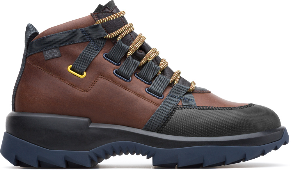 Camper Helix Marron Sneakers Hombre K300218-003