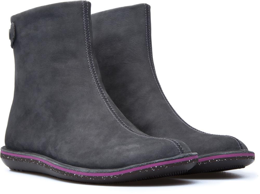 Camper Beetle Grey Boots Women K400010-007