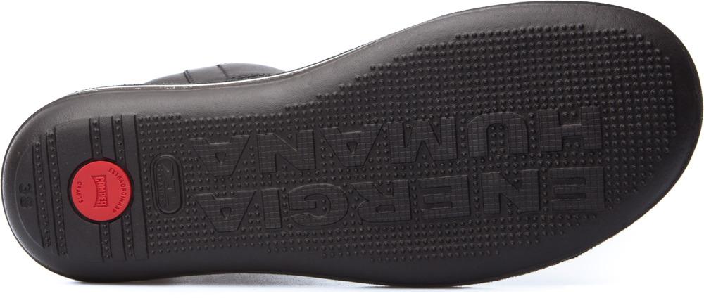 Camper Beetle Black Boots Women K400011-004