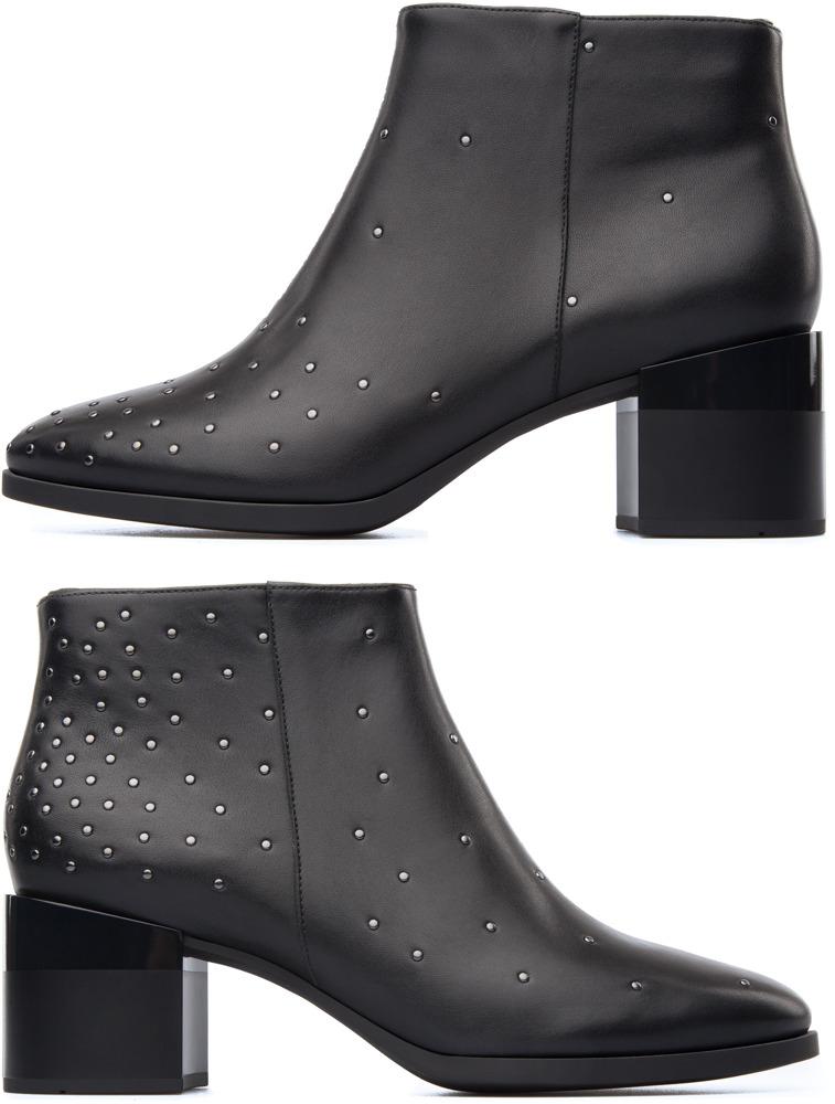 Camper Twins Black Boots Women K400042-004