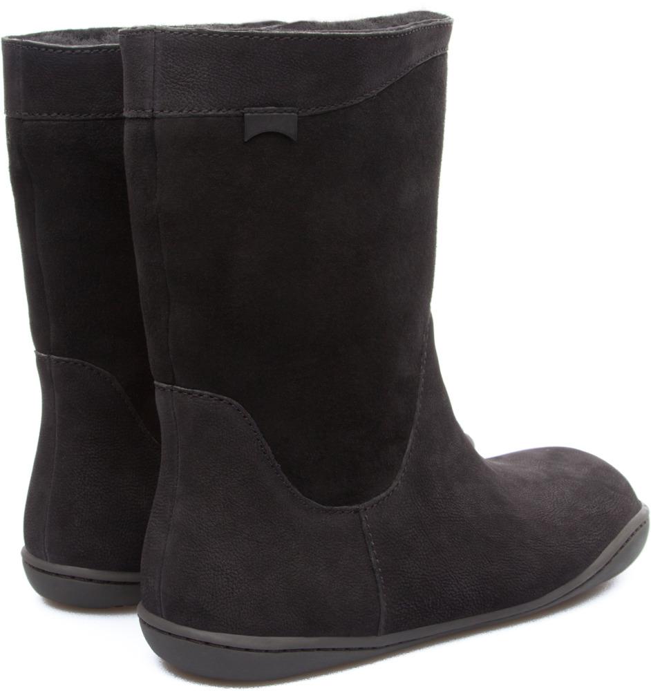Camper Peu Black Boots Women K400048-003