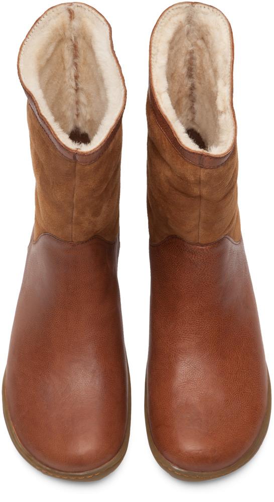 Camper Peu Brown Boots Women K400048-004