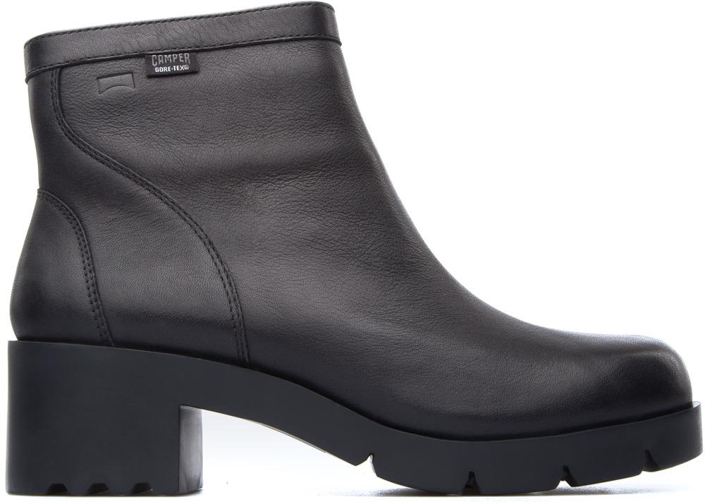 Camper Wanda Negro Zapatos de tacón Mujer K400059-003