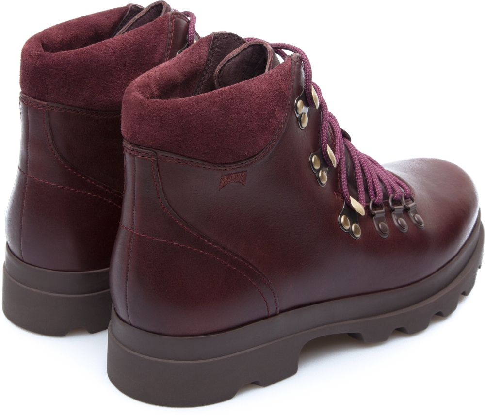 Camper Mil Red Boots Women K400094-001