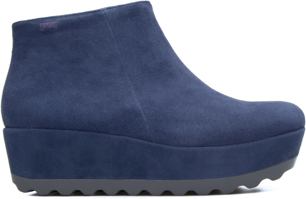 Camper Laika Blue Platforms Women K400101-002