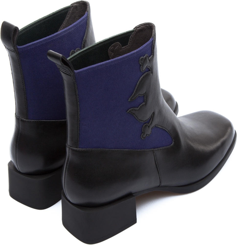 Camper Twins Black Boots Women K400113-001