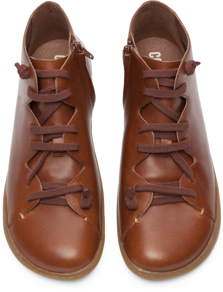 Camper Peu Brown Ankle boots Women K400120-002