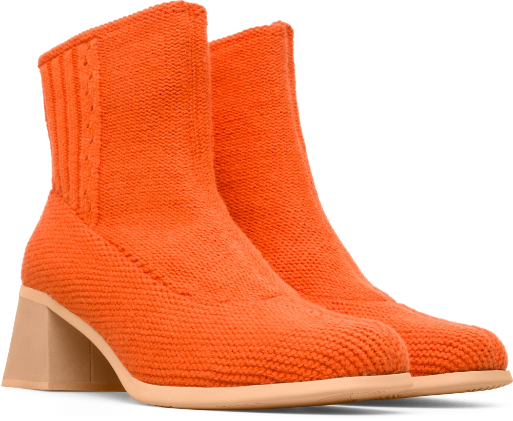 Camper Eckhaus Latta Orange Casual Shoes Women K400161-004