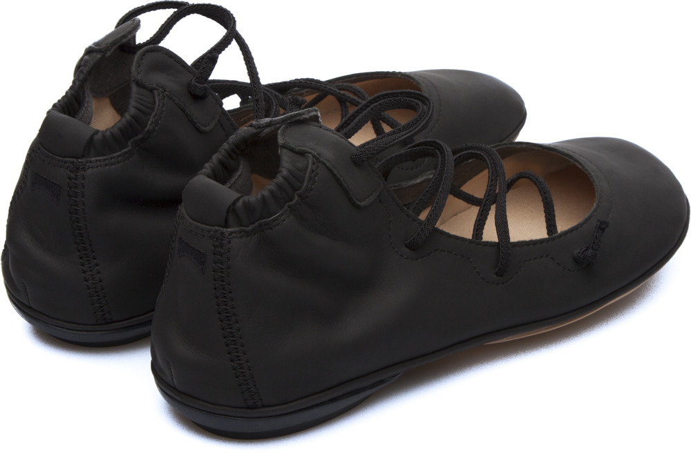 Camper Right Black Ankle Boots Women K400194-004