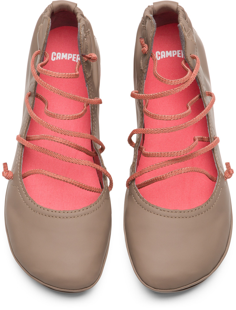 Camper Right Beige Casual Shoes Women K400194-007