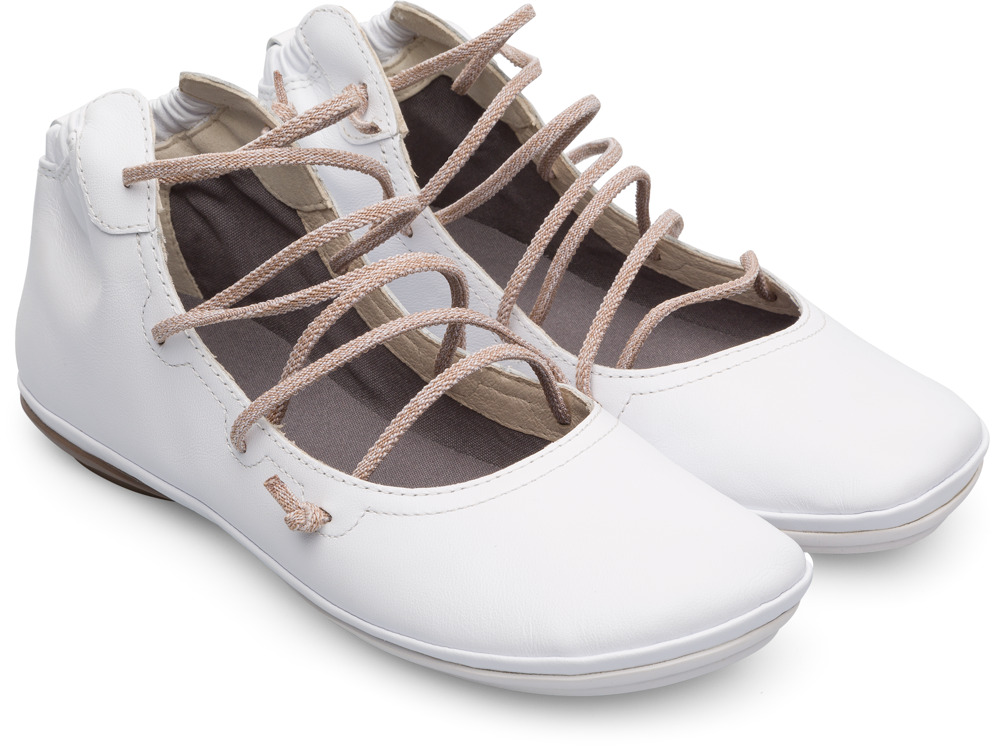 Camper Right White Casual Shoes Women K400194-009