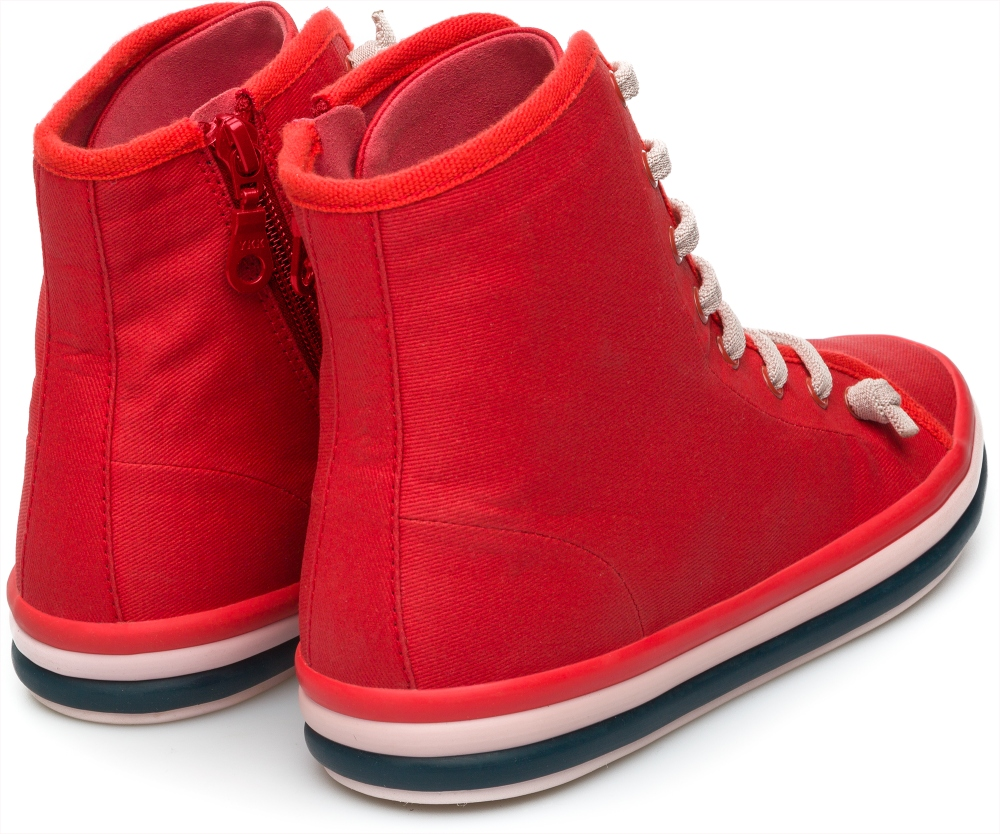 Camper Hoops Red Sneakers Women K400205-002