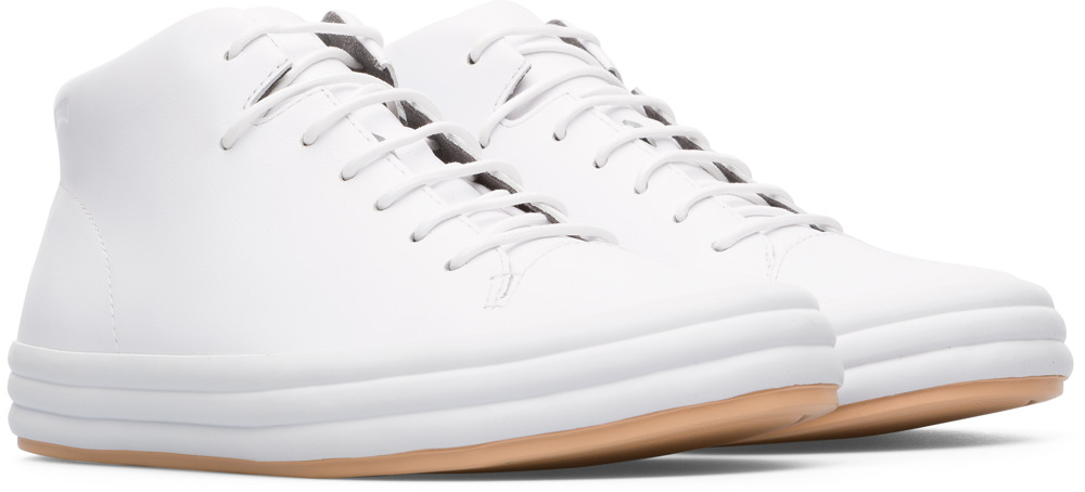 Camper Hoops Blanco Zapatos Casual Mujer K400206-004