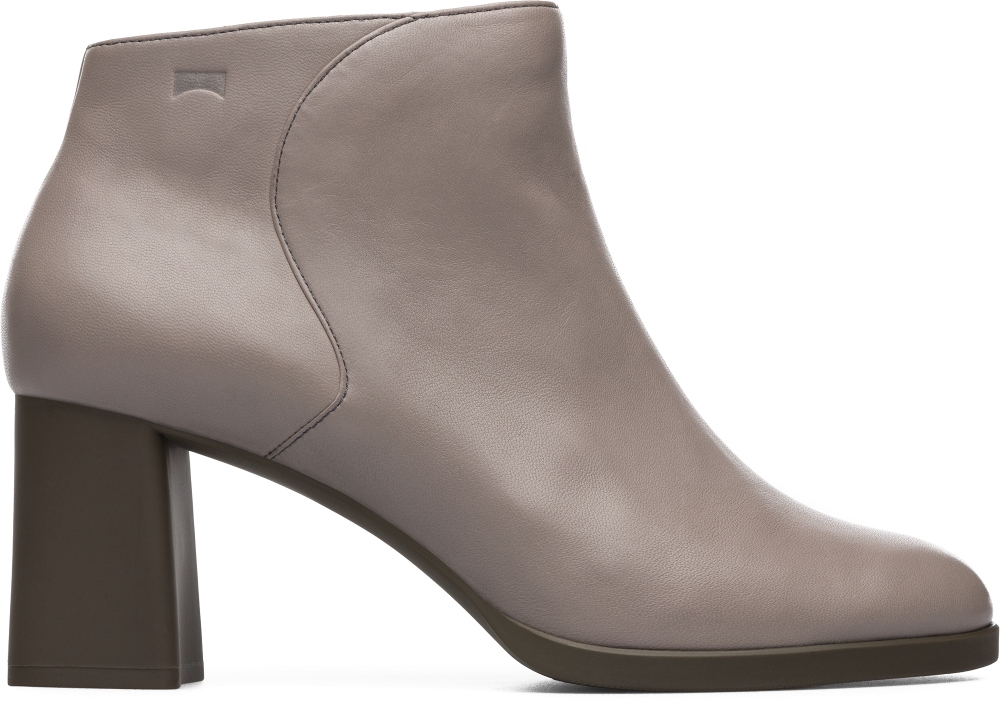 Camper Kara Grey Ankle Boots Women K400208-002