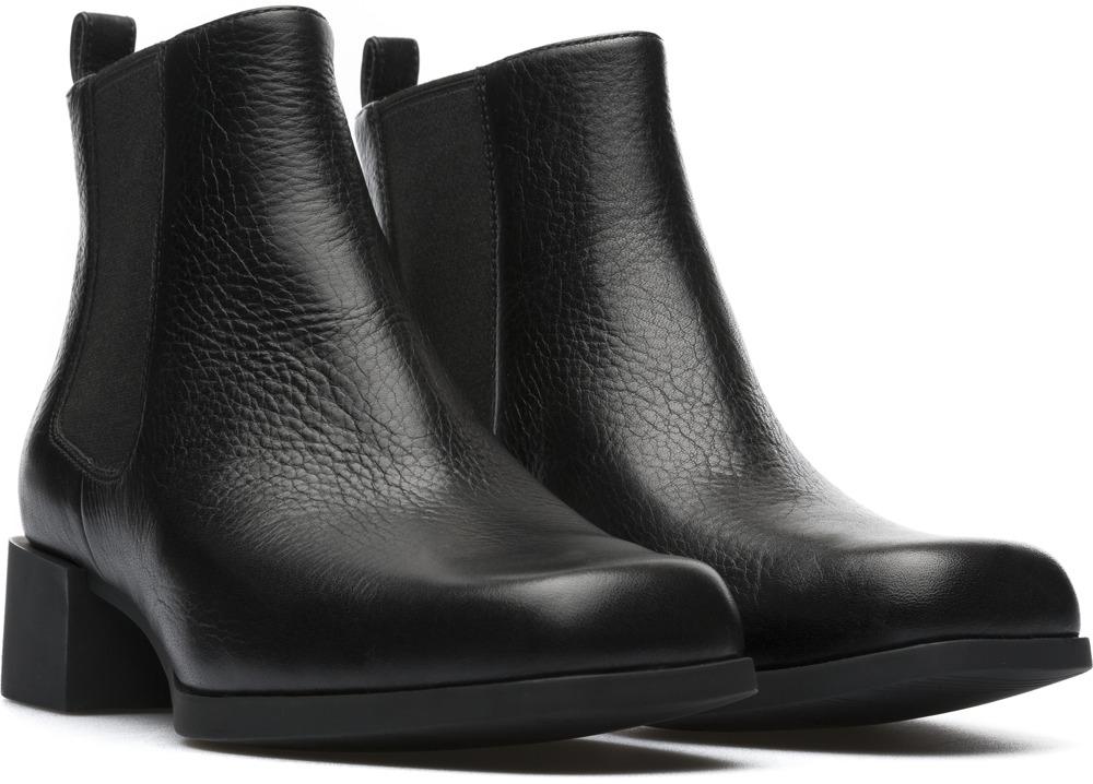 Camper Kobo Black Ankle Boots Women K400214-002