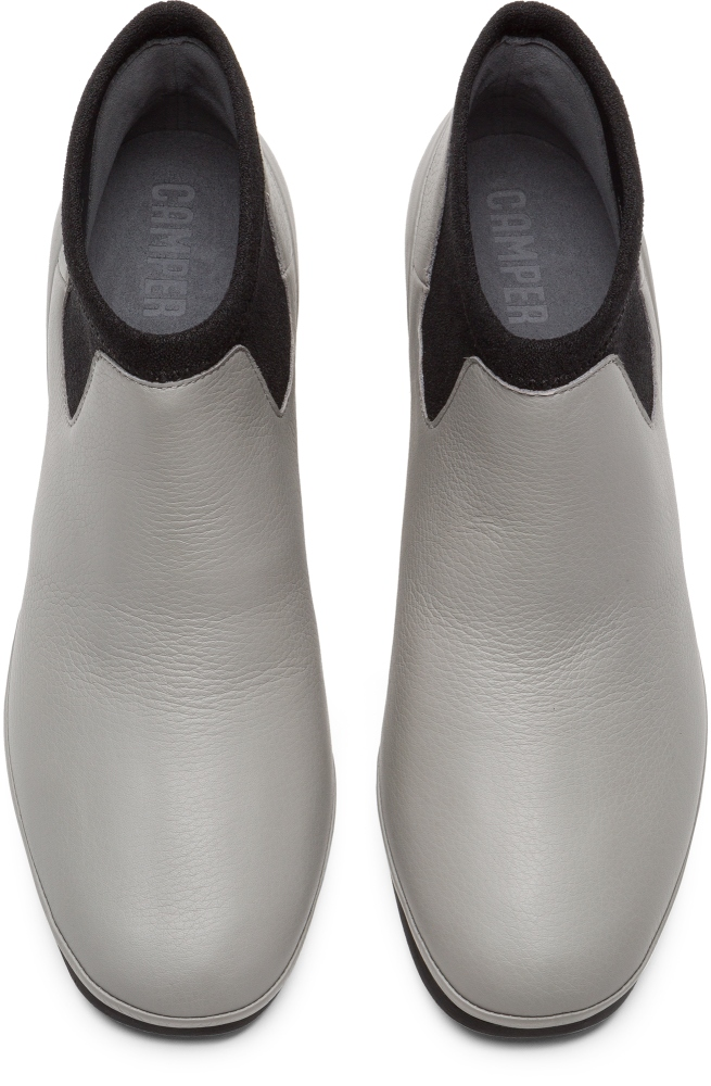 Camper Alright Grey Formal Shoes Women K400218-006