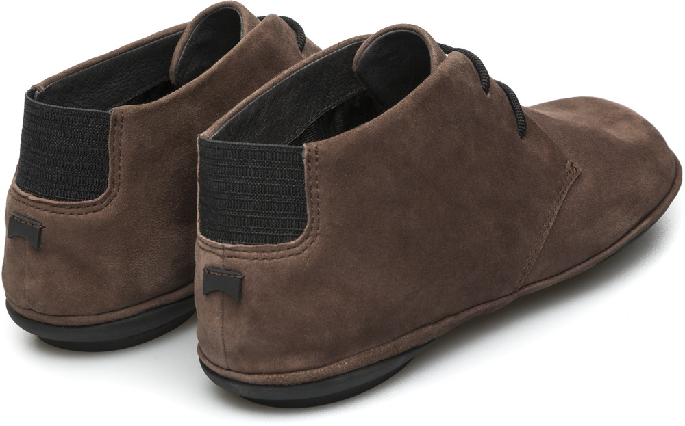 Camper Right Brown Ankle Boots Women K400221-003