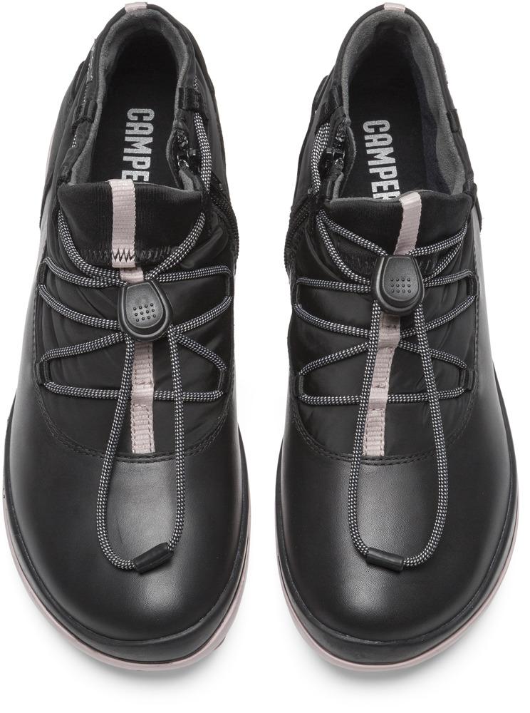 Camper Peu Pista Black Ankle Boots Women K400224-001