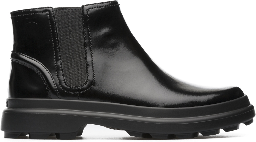 Camper Turtle Black Ankle Boots Women K400237-001