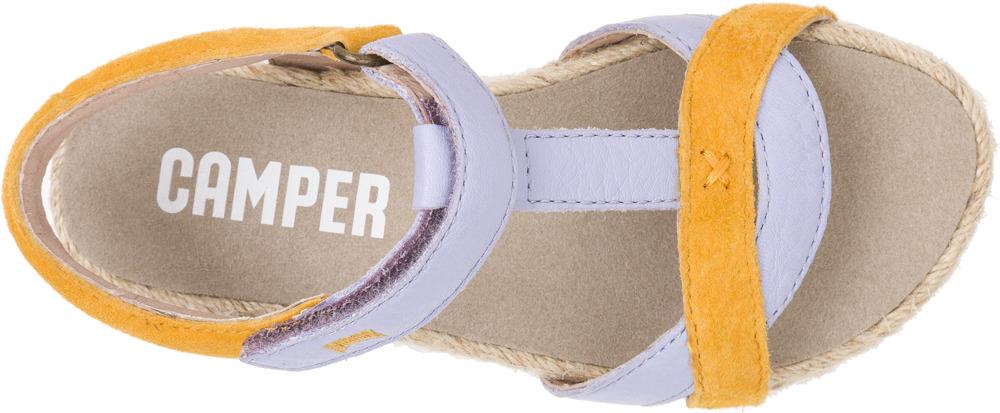 Camper Pinya Esparto Multicolor Sandals Kids K800034-001