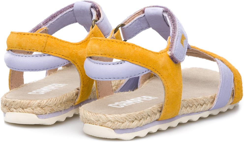 0f1bd8567515 Camper Pinya Esparto Multicolor Sandals Kids K800034-001