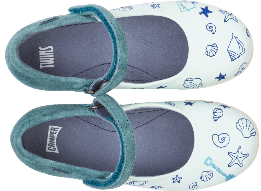 Camper Twins Blue SMART CASUAL SHOES Kids K800037-001