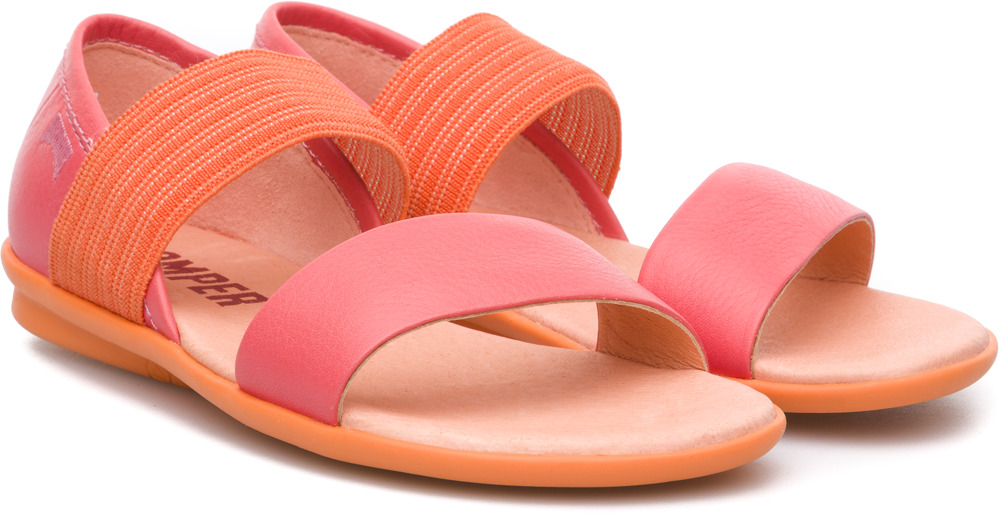 Camper Right Pink Sandals Kids K800041-001