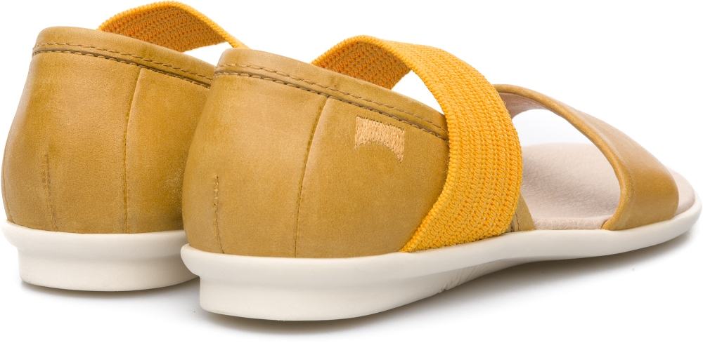 Camper Right Yellow Sandals Kids K800041-003