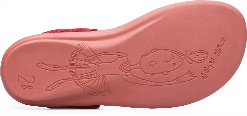 Camper Right Red Sandals Kids K800041-005