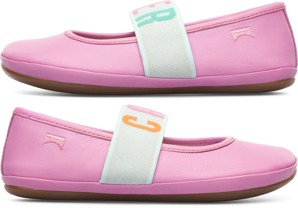 Camper Twins Rose Ballerines Enfant K800051-001