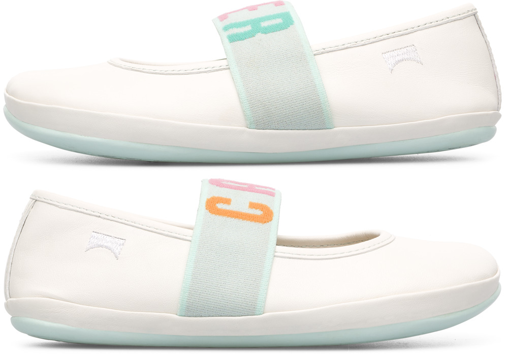 Camper Twins White SMART CASUAL SHOES Kids K800051-002
