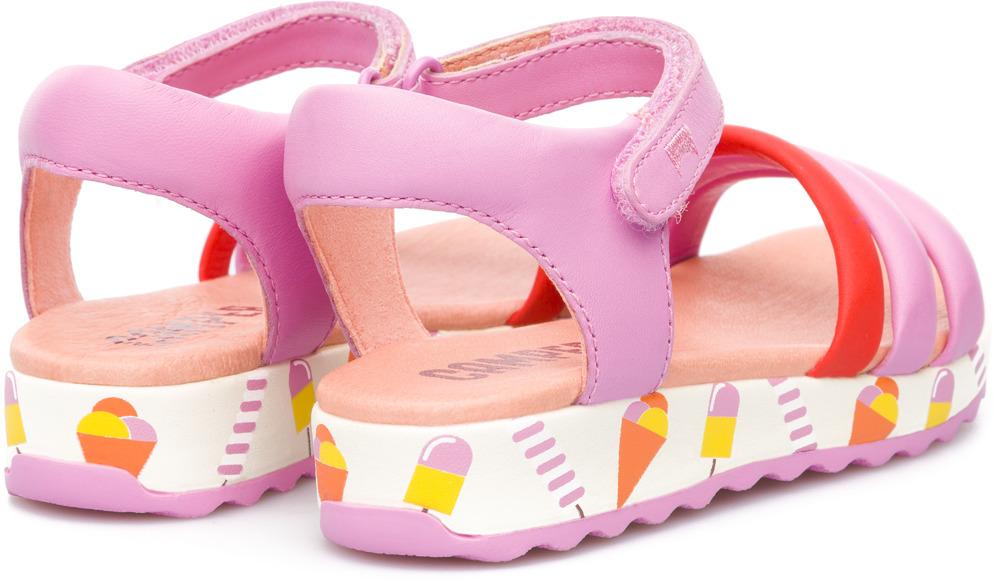 Camper Pinya Pink Sandals Kids K800053-002