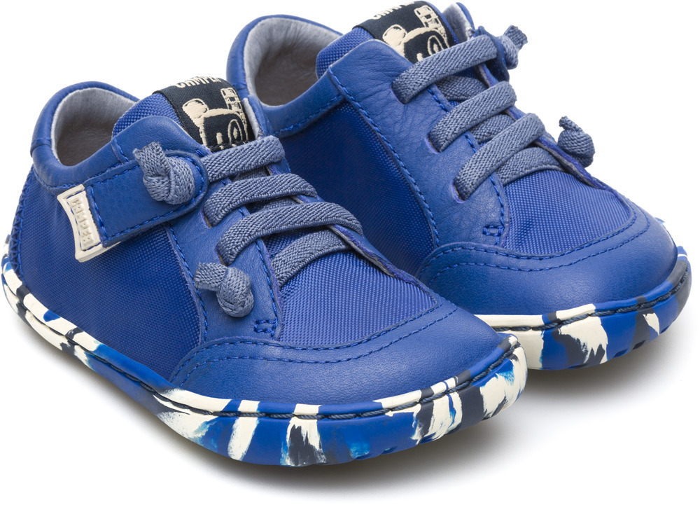 Camper Peu Blue Casual Shoes Kids K800085-003
